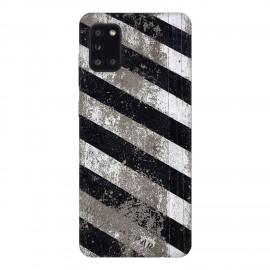 Samsung А31 кейс Черно и бяло