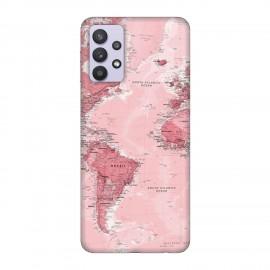 Samsung А32 5G кейс Розова карта