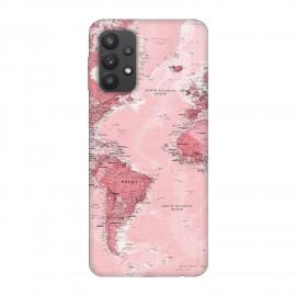 Samsung А32 кейс Розова карта