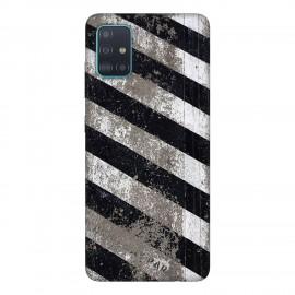 Samsung А51 кейс Черно и бяло