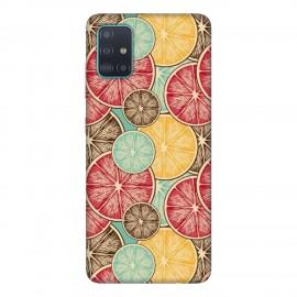 Samsung А51 кейс Плодове