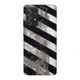 Samsung А52 5G кейс Черно и бяло
