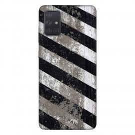 Samsung А71 кейс Черно и бяло