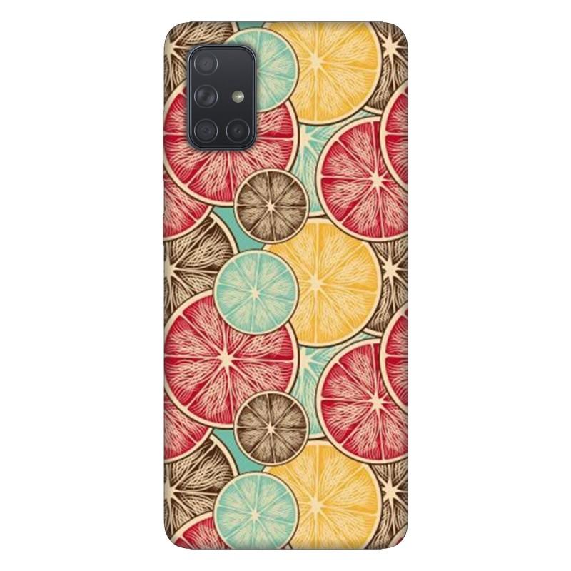 Samsung А71 кейс Плодове