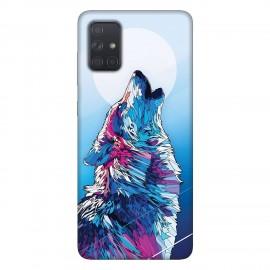 Samsung А71 кейс Вълк