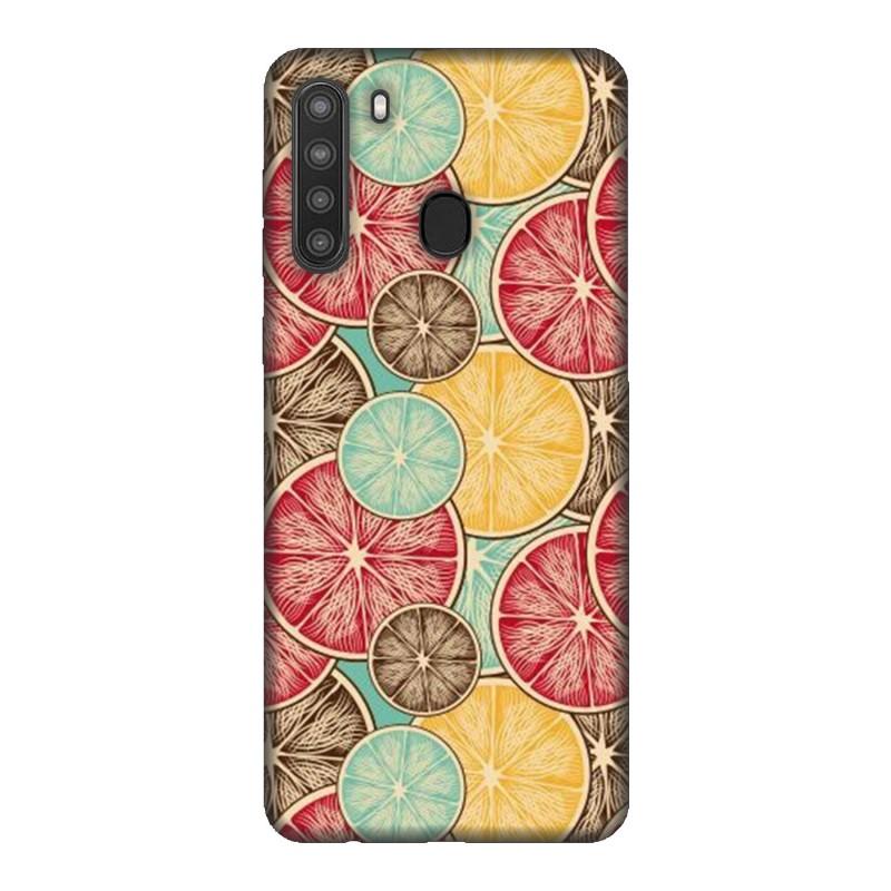Samsung A21 кейс Плодове