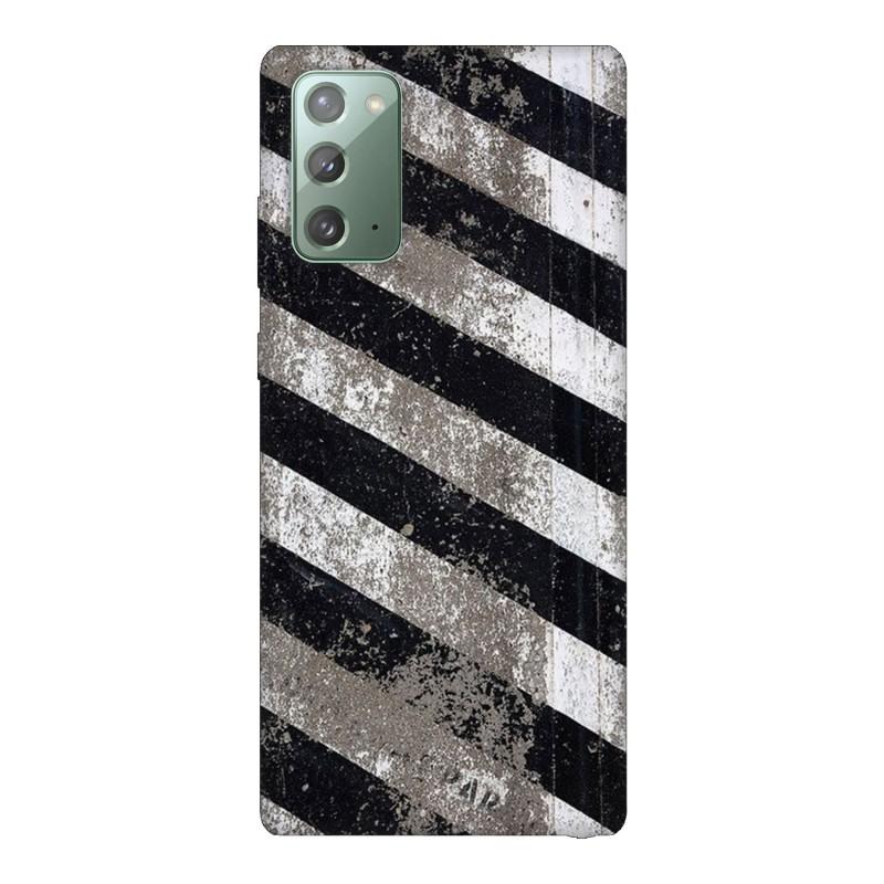 Samsung Note 20 кейс Черно и бяло