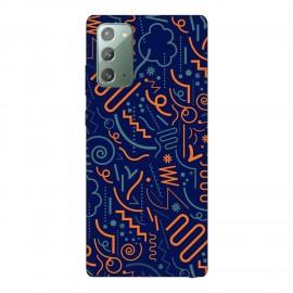 Samsung Note 20 кейс Чертички