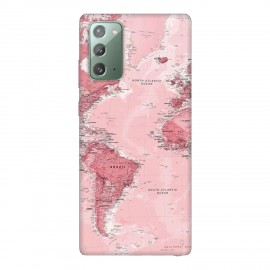 Samsung Note 20 кейс Розова карта