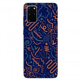 Samsung S20+ кейс Чертички