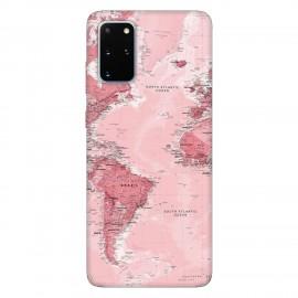Samsung S20+ кейс Розова карта