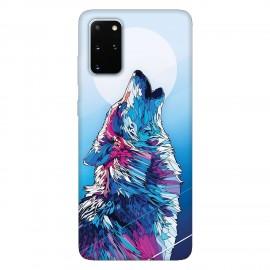 Samsung S20+ кейс Вълк