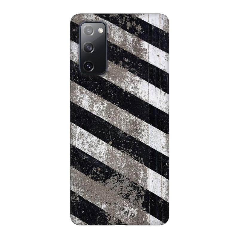 Samsung S20 FE кейс Черно и бяло