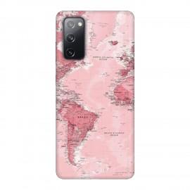 Samsung S20 FE кейс Розова карта