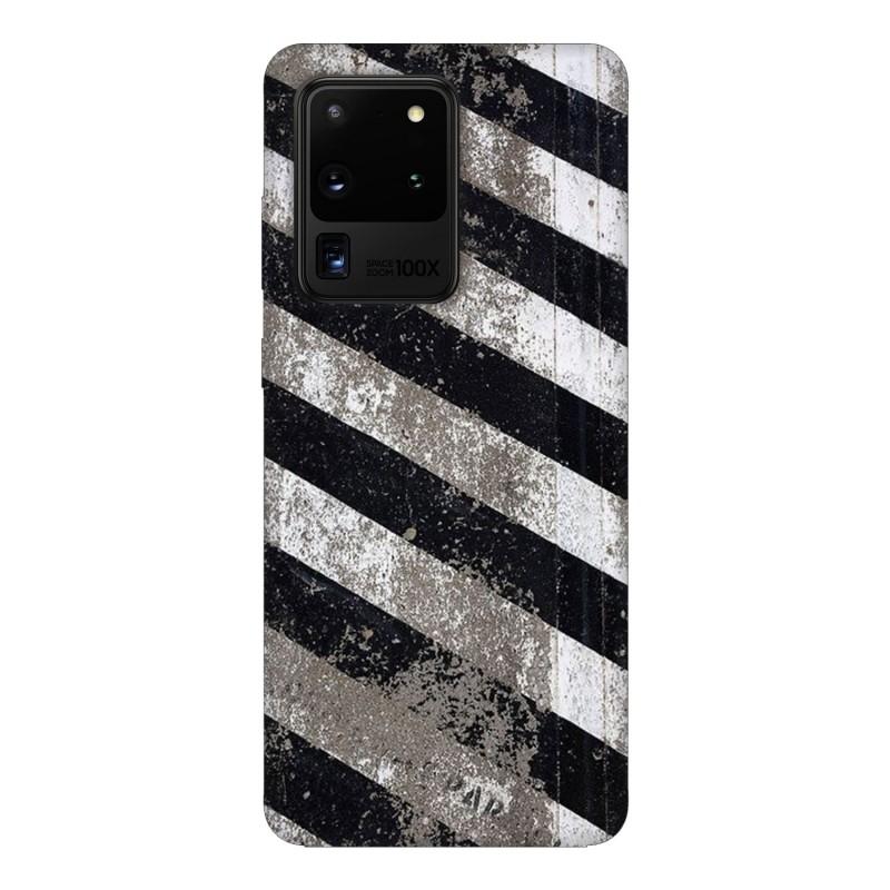 Samsung S20 Ultra кейс Черно и бяло