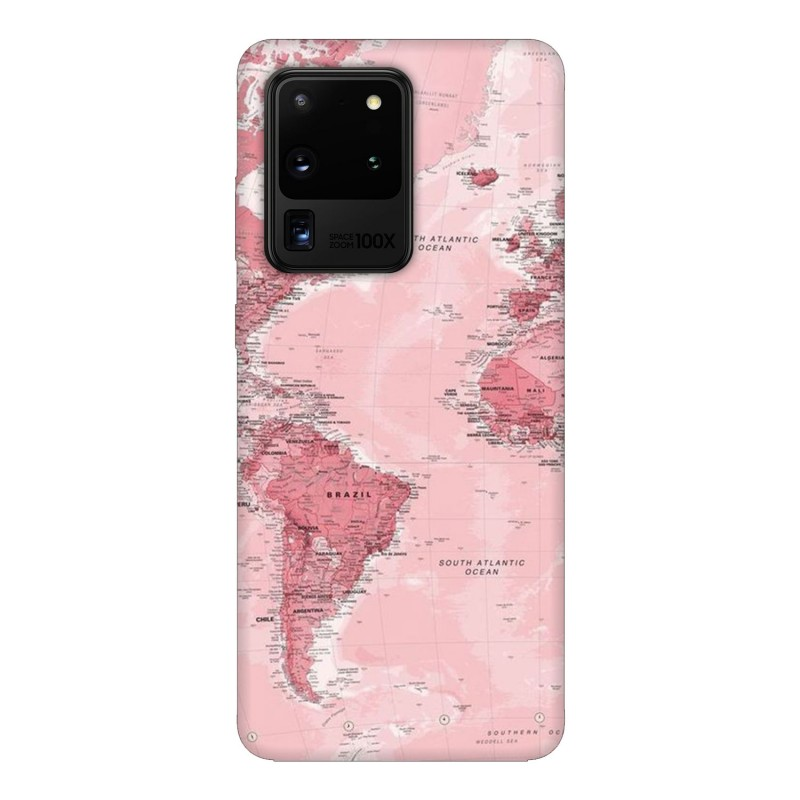 Samsung S20 Ultra кейс Розова карта