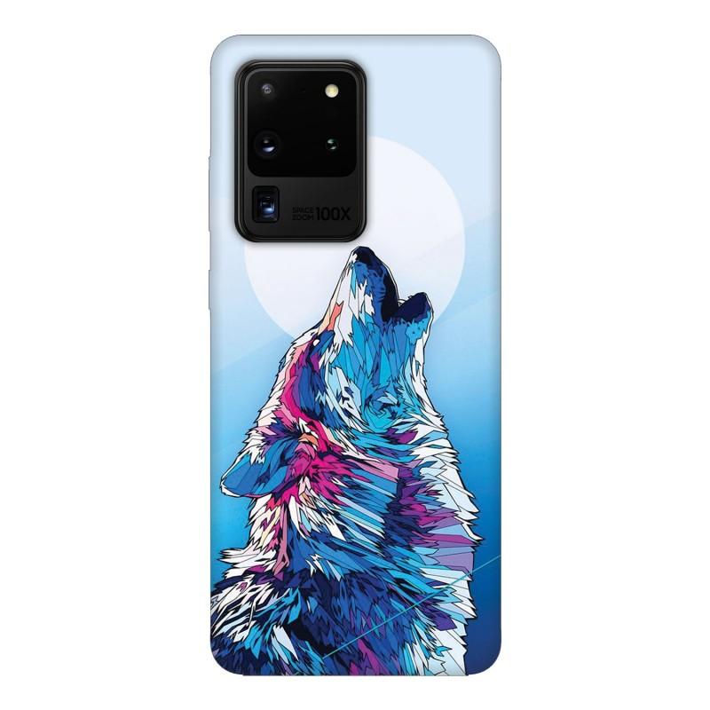 Samsung S20 Ultra кейс Вълк