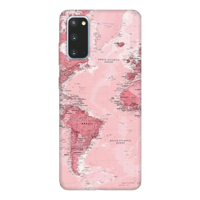 Samsung S20 кейс Розова карта