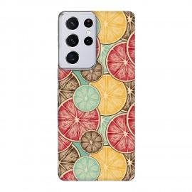 Samsung S21 Ultra кейс Плодове