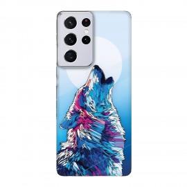 Samsung S21 Ultra кейс Вълк