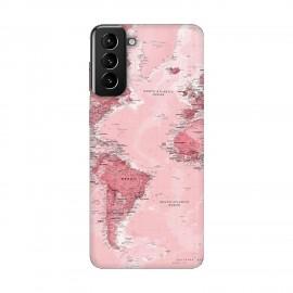 Samsung S21 Plus кейс Розова карта