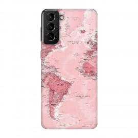 Samsung S21 кейс Розова карта