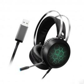 Геймърски светещи слушалки