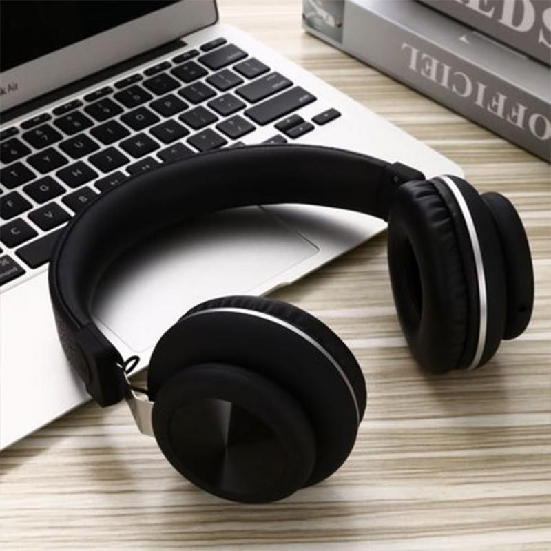 Големи слушалки с микрофон Elmcoei EV900