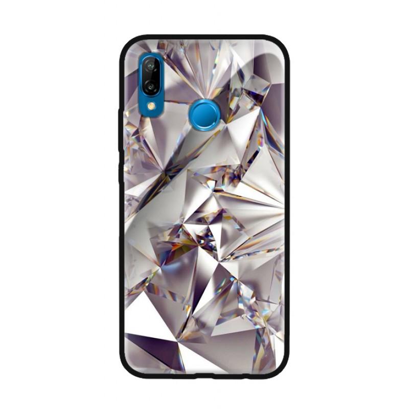 Стъклен кейс за Huawei P20 lite диамант 430