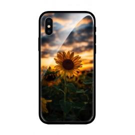 Стъклен кейс за iPhone Слънчоглед 501