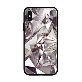 Стъклен кейс за samsung A6 диамант 430