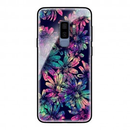 Стъклен кейс за Samsung Dark Flowers 521