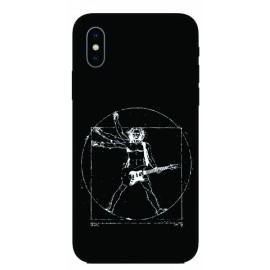 Калъфче за Xiaomi 101+7 Витрувиански човек с китара
