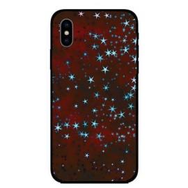 Кейс за Xiaomi 313 червен на звезди