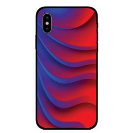 Кейс за Xiaomi 316 червено сини ленти