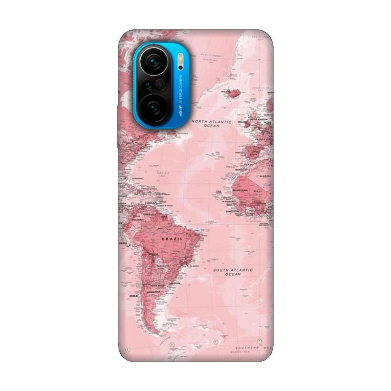 Xiaomi Poco F3 кейс Розова карта