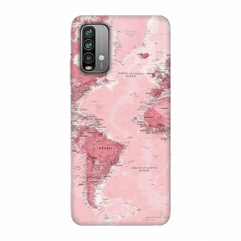 Xiaomi Redmi 9 Power кейс Розова карта