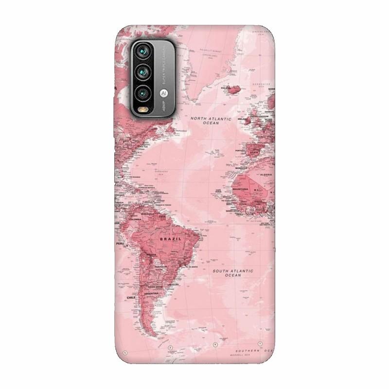 Кейс за Xiaomi Redmi 9 Power Розова карта