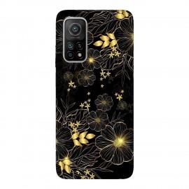 Xiaomi Mi 10T 5G кейс Златни цветя