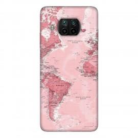 Xiaomi Mi 10T Lite 5G кейс Розова карта