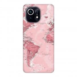Xiaomi Mi 11 кейс Розова карта