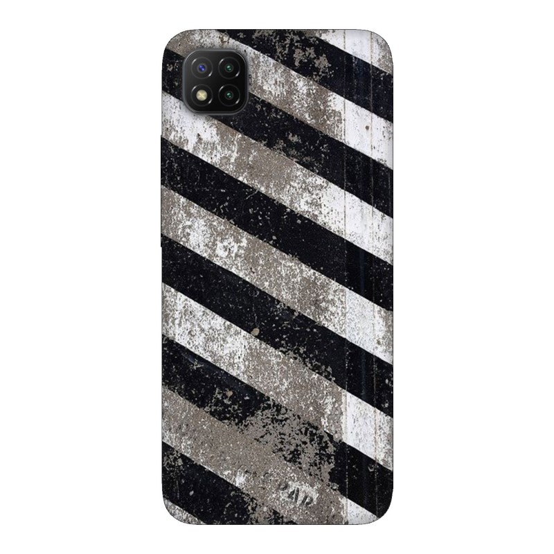 Xiaomi Poco C3 кейс Черно и бяло