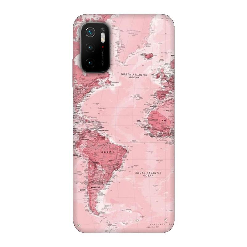 Xiaomi Poco M3 Pro 5G кейс Розова карта