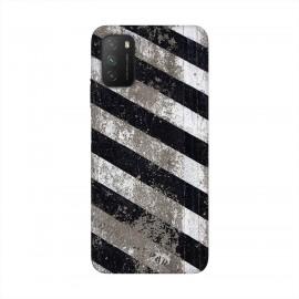 Xiaomi Poco M3 кейс Черно и бяло