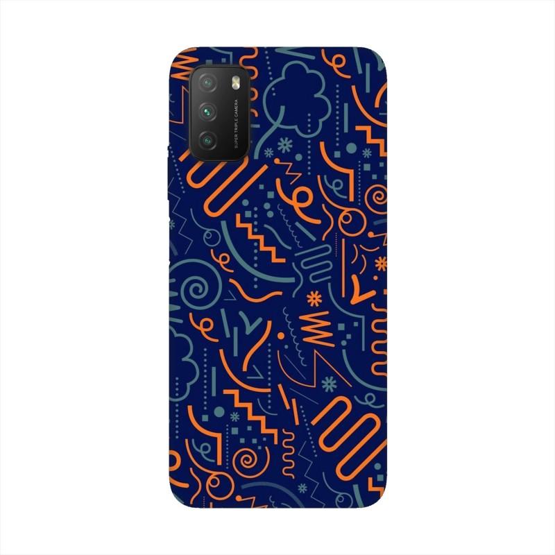 Xiaomi Poco M3 кейс Чертички
