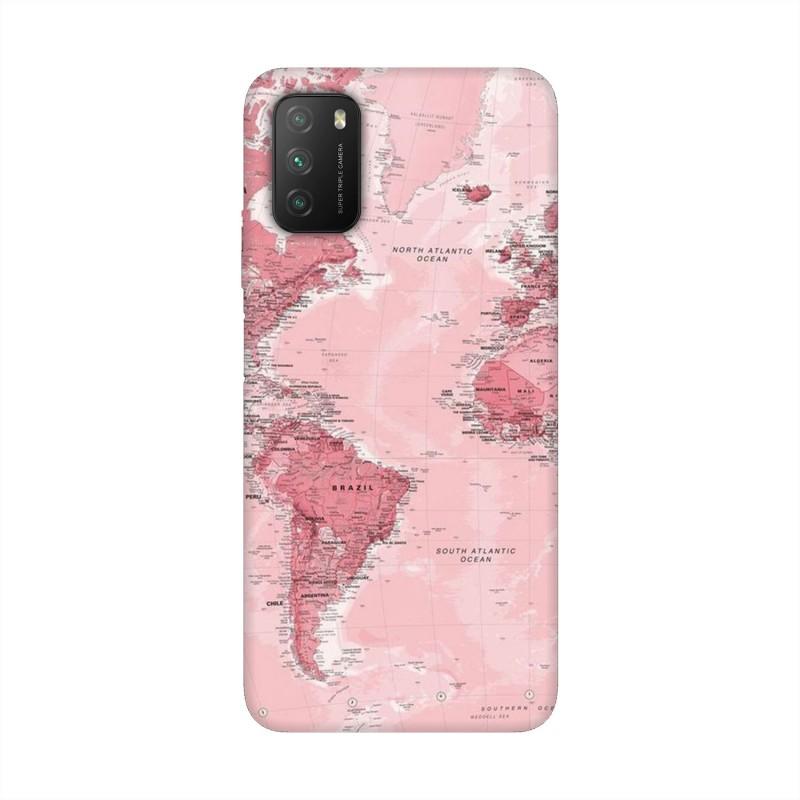 Xiaomi Poco M3 кейс Розова карта