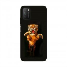 Xiaomi Poco M3 кейс Тигър