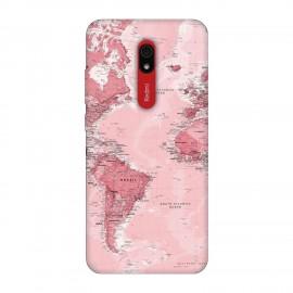 Xiaomi Redmi 8A кейс Розова карта