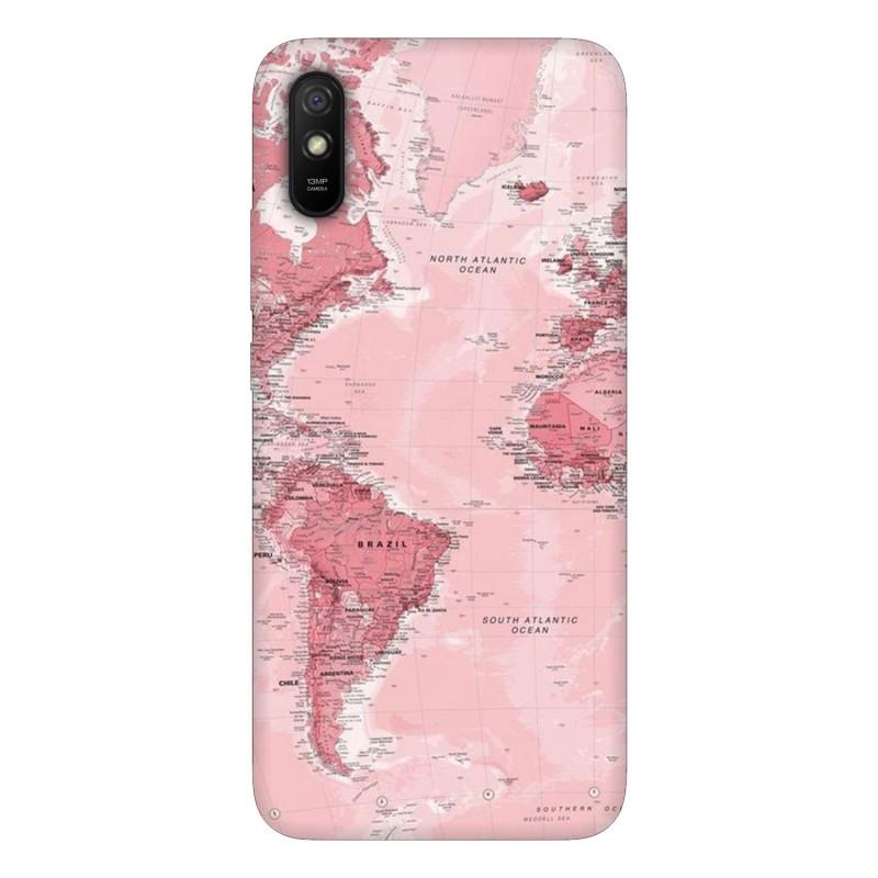 Xiaomi Redmi 9A кейс Розова карта