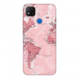 Xiaomi Redmi 9C кейс Розова карта